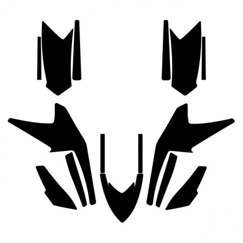 Arctic Cat DVX 400 2004 2005 2006 2007 2008 Graphics Template