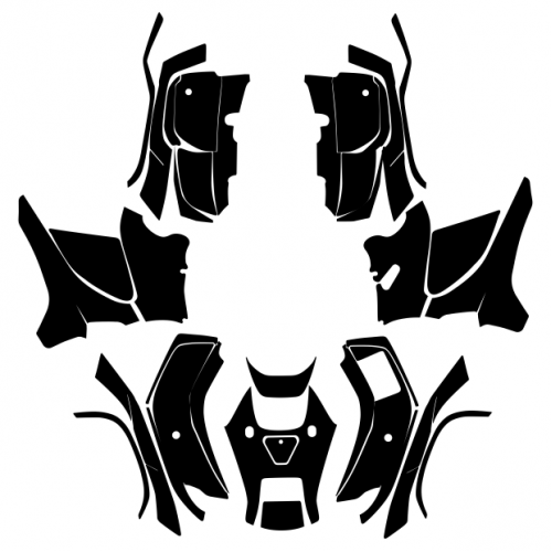 Honda FourTrax Foreman 4x4 2009 2010 2011 2012 2013 2014 Graphics Template