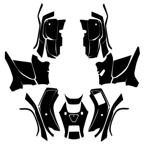Honda FourTrax Foreman 4x4 2009 2010 2011 2012 2013 2014 Graphic Templates