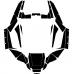 Arctic Cat WILDCAT 1000 2012 2013 2014 Graphic Templates