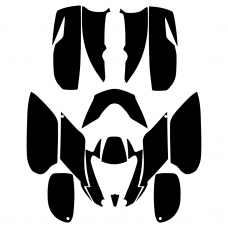 Can-Am DS 650 Full Kit Graphic Templates