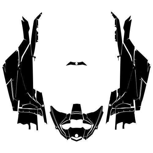 CAN-AM MAVERICK X3 (2 DOORS) Graphics Template
