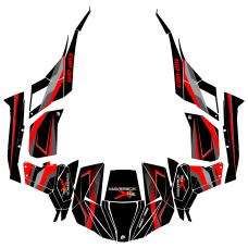 Can-Am Maverick DS Sport EDITABLE DESIGNS Graphics Template