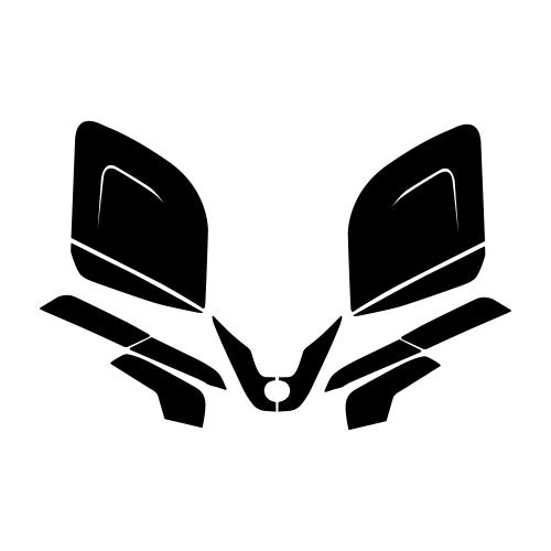 Ski-Doo Freestyle Tundra Graphic Templates