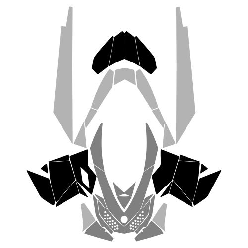 Ski-Doo Rev XP Complete Graphic Templates