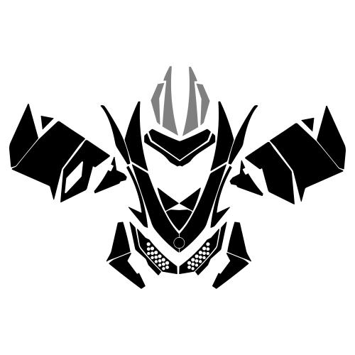 Ski-Doo Rev XP E-Tec Graphic Templates