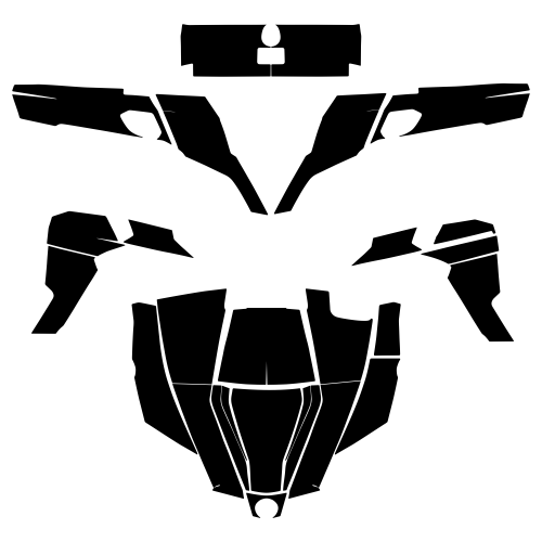 CAN-AM COMMANDER 1000 Graphics Template
