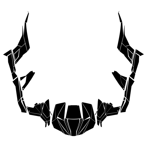 CAN-AM Maverick (4 DOOR) Graphic Templates