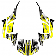 Can-Am Maverick 1000 Thunder EDITABLE DESIGNS Graphic Templates