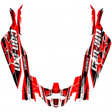 Can-Am MAVERICK X3 MAX (4 DOORS) Bullet EDITABLE DESIGNS Graphic Templates