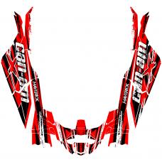 Can-Am MAVERICK X3 MAX (4 DOORS) Bullet EDITABLE DESIGNS Graphic Templates