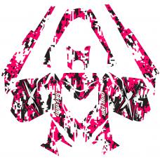 Ski-Doo Rev XM 2013-2016 CAMO EDITABLE DESIGNS Graphic Templates