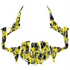 Maverick 1000R X DS 1000 TURBO Camo EDITABLE DESIGNS Graphic Templates
