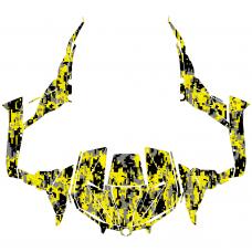 Maverick 1000R X DS 1000 TURBO Camo EDITABLE DESIGNS Graphic Templates