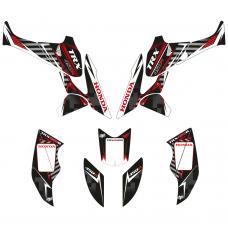 Honda TRX 450 Black EDITABLE DESIGNS Graphic Templates