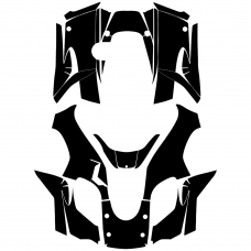 KAWASAKI Brute Force 750 2004 2005 2006 2007 2008 209 2010 2011 2012 Full Kit Graphic Templates