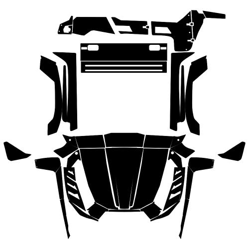 KAWASAKI TERYX 700  2010 - 2012 Graphic Templates