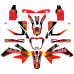 Honda CRF250 Red Bull EDITABLE DESIGNS Graphic Templates