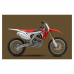 HONDA CRF 250 2014 Graphics Template