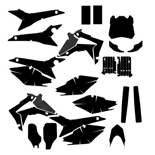 HONDA CRF 450 2014 Graphic Templates