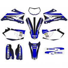 Yamaha WRF 250 2007-2014 EDITABLE DESIGNS Graphic Templates