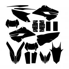 HUSABERG 125 TE 2013 Graphic Templates