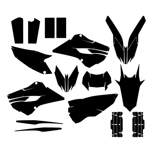 HUSABERG 250 FE 2013 Graphic Templates