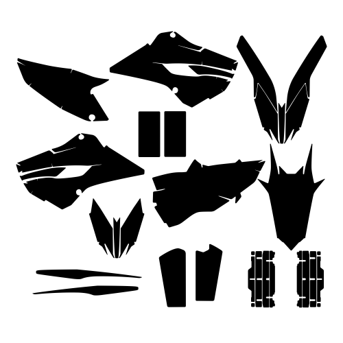 HUSABERG 300 TE 2013 Graphic Templates