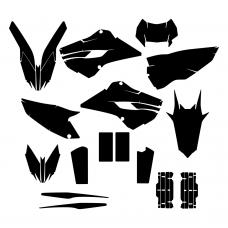 HUSABERG 350 FE 2013 Graphic Templates