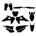 Husky TC 125 250 FC 250 350 450 2019 Graphic Templates