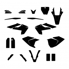 HUSQVARNA FS 450 2018 Graphic Templates