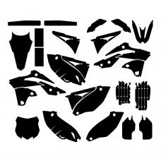 KAWASAKI KXF 250 2013 Graphic Templates