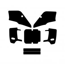 Kawasaki KDX 1989-2005 Graphic Templates