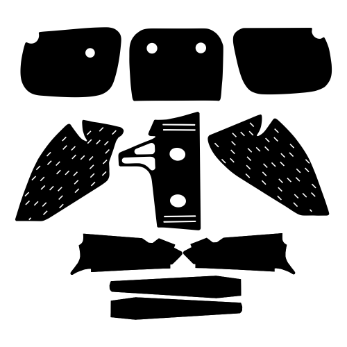 Kawasaki KX 60 1985-2005 Graphic Templates