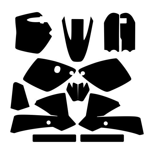 KTM SX 65 2002 2003 2004 2005 2006 2007 2008 Graphics Template