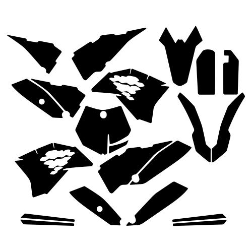 KTM SX 65 2013 Graphic Templates