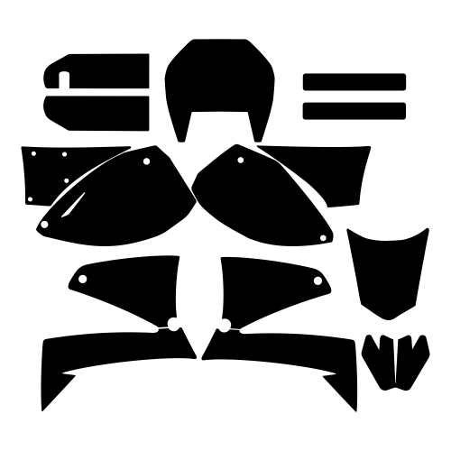 KTM LC 4 Graphics Template