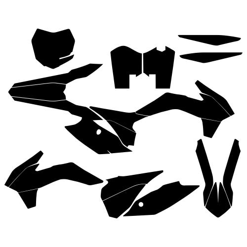 KTM SXF 2013 Graphics Template