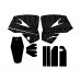KTM SXF 525 DESERT TANK Graphics Template