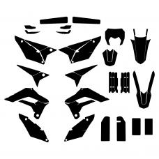SHERCO SE-R 125 2018 Graphic Templates