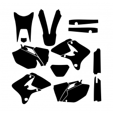 Yamaha WR 250F 450F 2003 2004 Graphic Templates