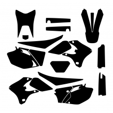 Yamaha WR 250F 450F 2004 2005 2006 Graphic Templates