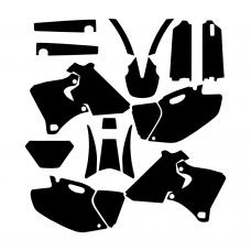 Yamaha WRF 250-426 1998 1999 2000 2001 2002 Graphic Templates
