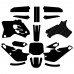 Yamaha YZ 80 1993 1994 1995 1996 1997 1998 1999 2000 2001 Graphics Template