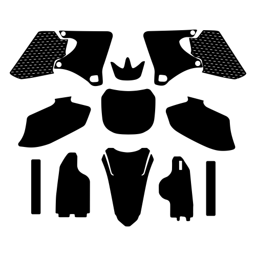 Yamaha YZF 250 426 2000 2001 2002 Graphics Template
