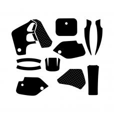 Honda CR 80 1990 1991 1992 1993 1994 1995 Graphic Templates