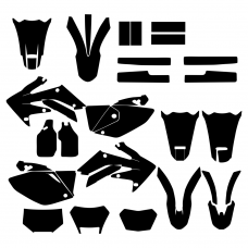 HONDA CRF 250X 2004-2016 Graphic Templates