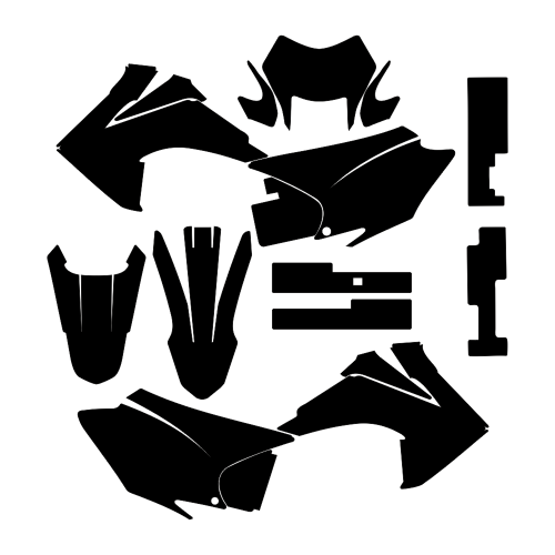 HONDA CRF 203 F 150 F 2015 - Graphic Templates