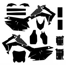 HONDA CRF 250 2014 Graphic Templates