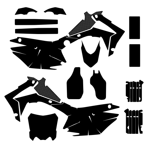 HONDA CRF 250 2014 Graphic Templates